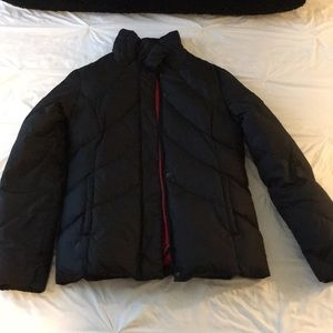 Tommy Hilfiger Black Bubble Jacket